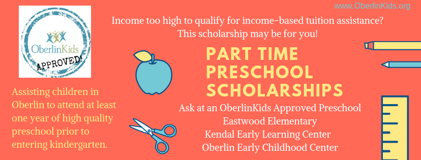 Preschool Childcare Options Oberlin Kids